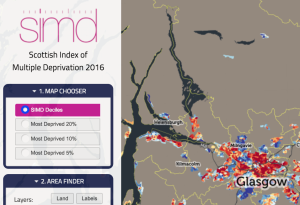 SIMD data visualisation