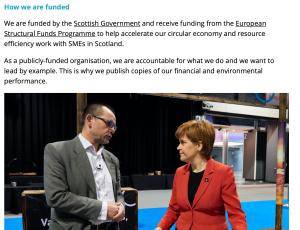 Scottish Government Fund ZWS