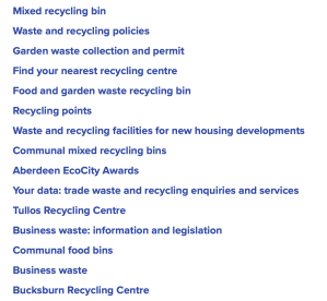 Search results for recycling