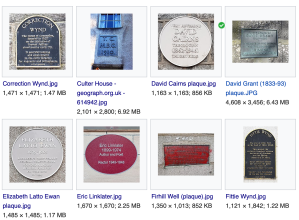 Some Aberdeen plaques