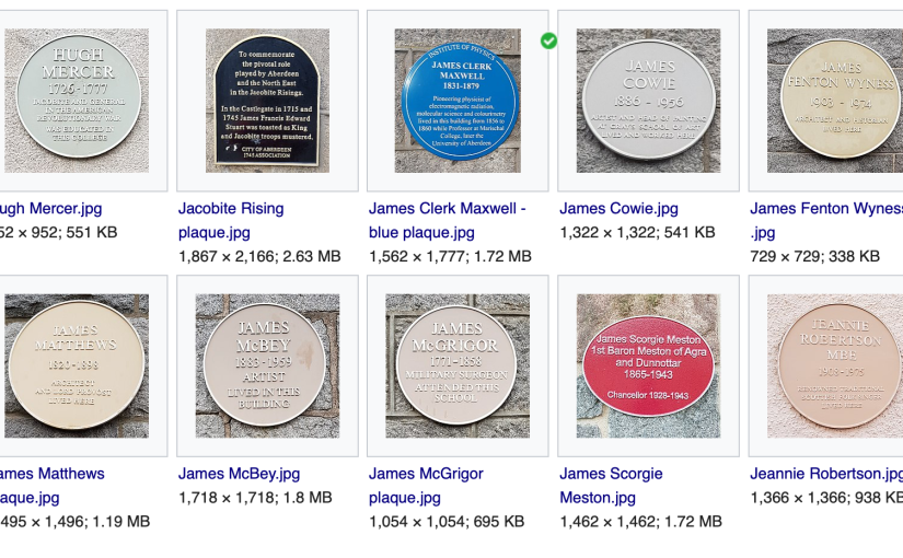 Loads of plaques