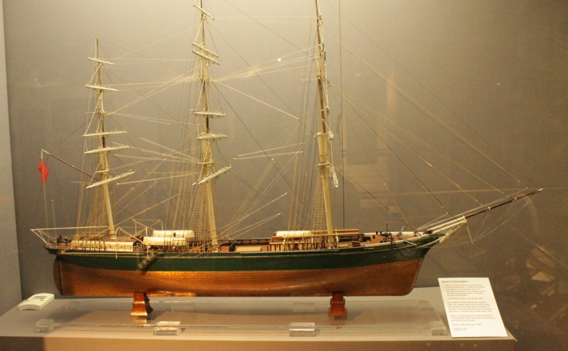 Scale model of Thermopylae, Aberdeen Maritime Museum By Stephencdickson