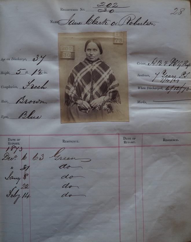 Jane Clark's record
